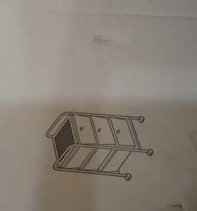 Этажерка с выдвижными ящиками