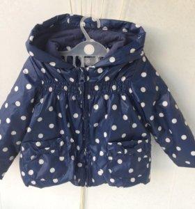 Курточка для девочки, 80 размер