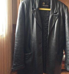 Куртка кожаная женская, пиджак