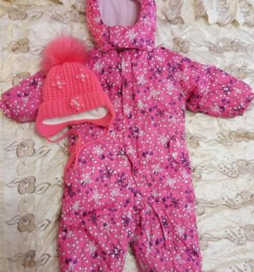 Зимний комплект для малышки.