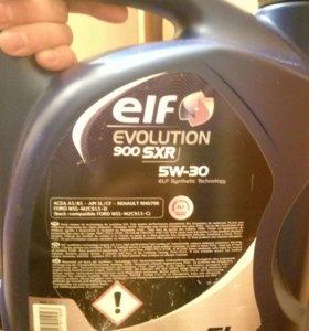 Продам масло elf 5w-30, 5л, синтетика