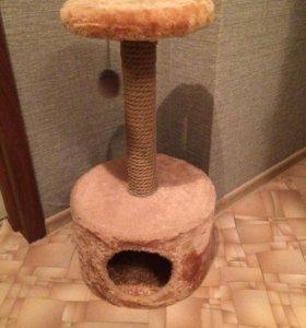 Домик-когтеточка для кошек Trixie