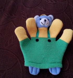 Мочалка перчатка детская