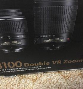 Nikon D3100 VR ZOOM KIT
