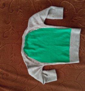 Офигенный пуловер бадлон детский свитер