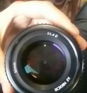 Nikon AF Nikkor 50 mm 1:1.4D