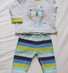 Пижамы (3-6 мес.) комплект