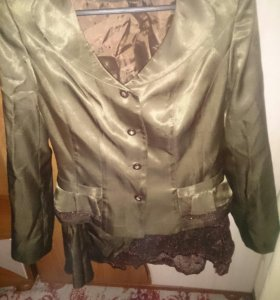 Женский строгий костюм,юбка+пиджак
