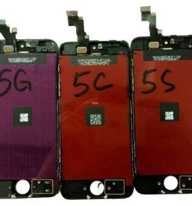 Экраны iPhone 5,5с,5s