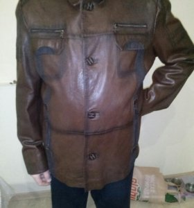 Куртка нат кожа