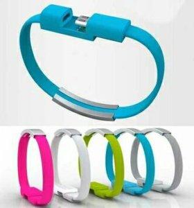 браслет шнур для андроид
