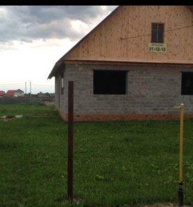 Продам дом 100 квадратных метров на участке 15 сот