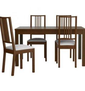 Новые стулья икея берье