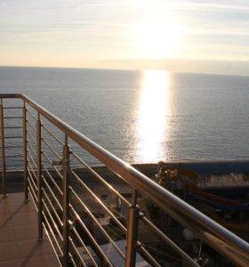 п.Джубга, на берегу моря сдаются аппартаменты