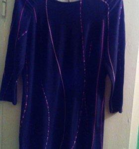 Платье трикотаж.