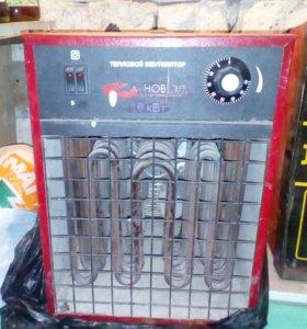 Тепло вентилятор 380v