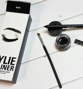 Набор Kylie Карандаш + подводка +кисть
