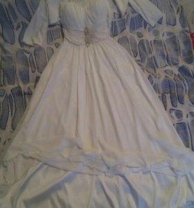 Платье выпускное- свадебное