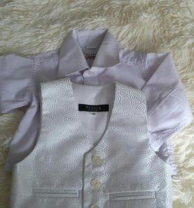 Детская рубашечка (двоечка