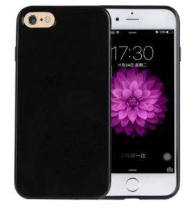 Чехол на iPhone 6 и 7 и SE и PLUS 5.5 и 4.7 черный
