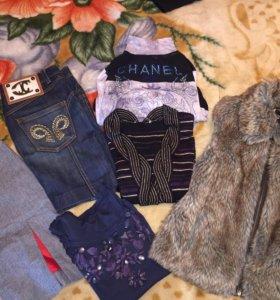Одежда брендовая пакетом