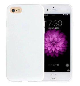 Чехол на iPhone 6 и 7 и SE и PLUS 5.5 и 4.7 белый