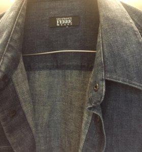 Рубашка джинсовая Ferre