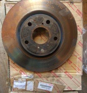 Тормозные диски от Тойота Камри