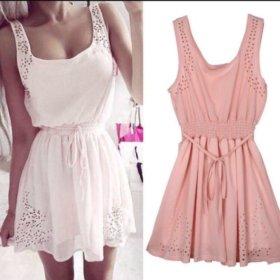 👗 Белое платье