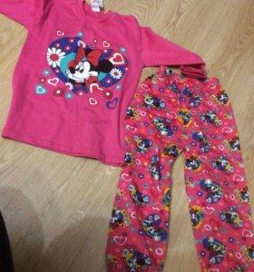 Пижама рост 124
