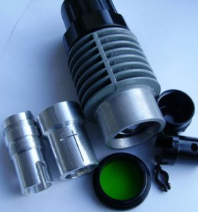Осветитель для микроскопа МБС, новый.