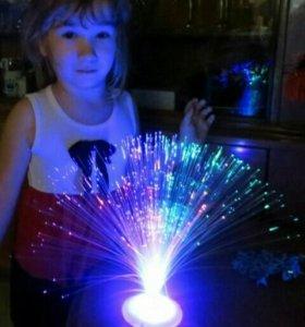 Новый светильник фонтан