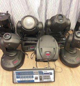 Сценическое световое оборудование