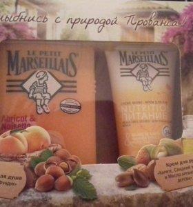 Набор marseillais крем и гель-пена