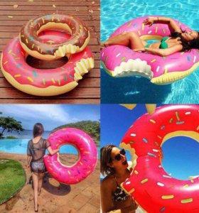 Круг для плавания пончик 🍩