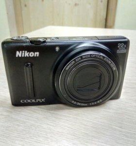 Nikon s 9600 wi-fi 16mp.