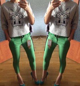 Укорочённые классические брюки