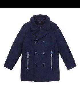 Пальто для мальчика р.116