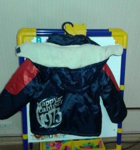 Куртка для мальчика р-р 86-92