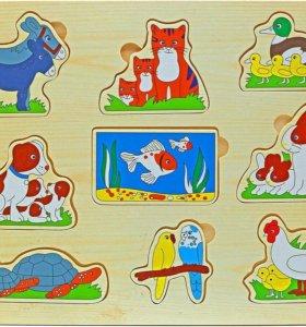 Новые развивающие игрушки для детишек.