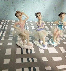 Набор из трёх балерин