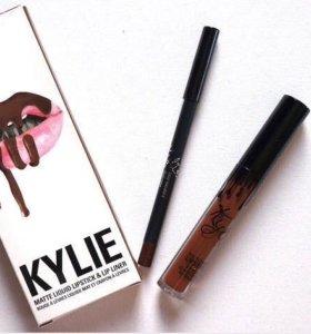 Карандаш и матовая помада Kylie