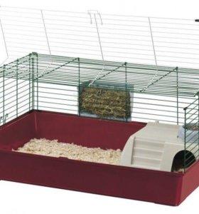 Большая клетка для кроликов