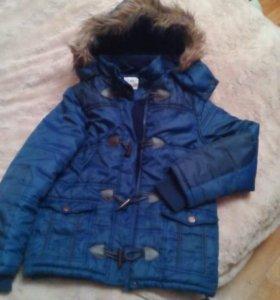 Куртка на мальчика на 10-11 лет