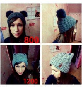 Продам шапки женские