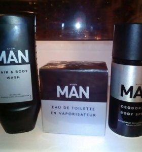 Мужской парфюмерный набор.