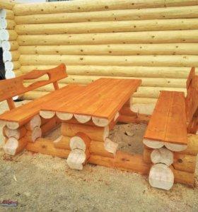 Комплект садовой мебели.