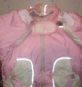 Куртка на девочку 2-4года