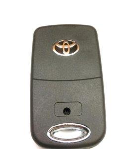 Ключ Тойота выкидной на 2 кнопки.