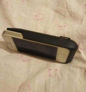 Съемный чехол _аккумулятор на 4 айфон.